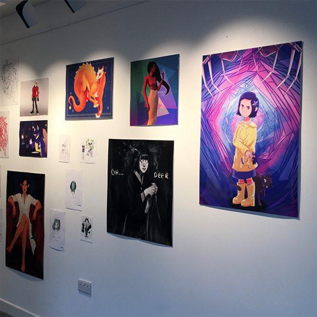 Inktober LIT Exhibition