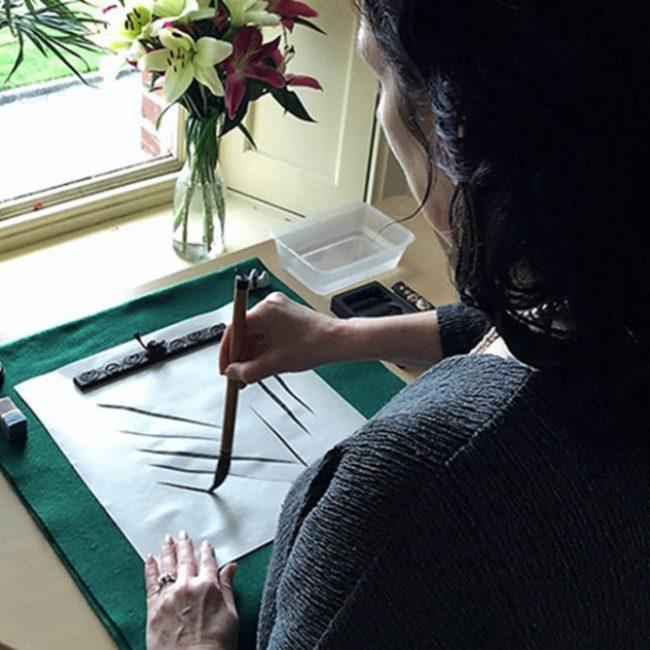 Japanese Black Ink Workshop